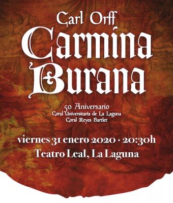 CARMINA BURANA - 50 ANIVERSARIO