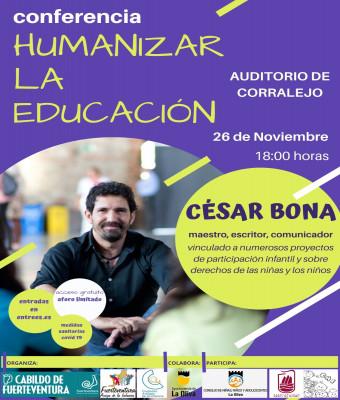 Conferencia de César Bona