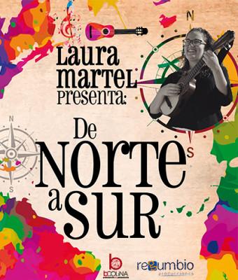 Laura Martel de Norte a Sur