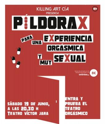 PÍLDORA X PARA UNA EXPERIENCIA ORGÁSMICA Y MUY SEXUAL
