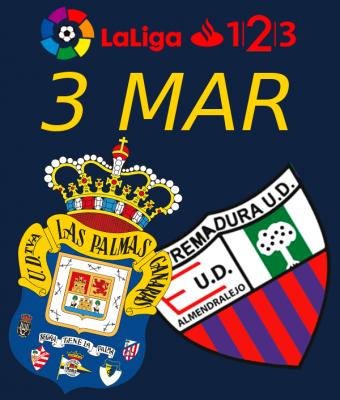 LaLiga 123 - UD Las Palmas VS Extremadura UD