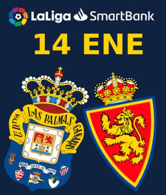 LaLiga SmartBank - UD Las Palmas VS Real Zaragoza