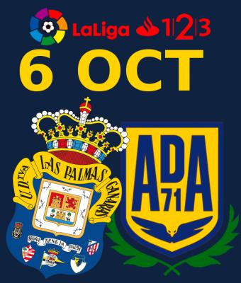 LaLiga 123 - UD Las Palmas VS SD Alcorcon