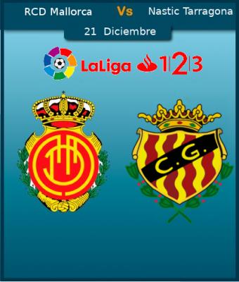RCD Mallorca VS Nastic de Tarragona