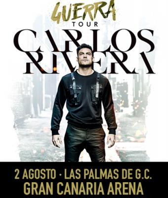 CARLOS RIVERA Guerra Tour - Las Palmas de Gran Canaria