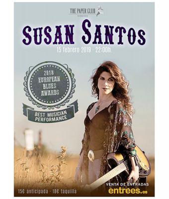 Susan Santos en concierto