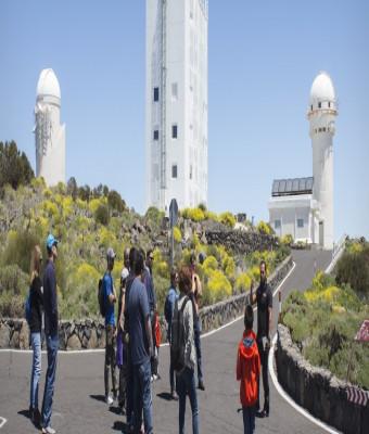 Visita guiada diurna al Observatorio del Teide