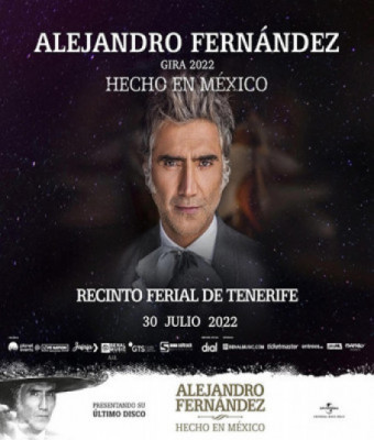 """Alejandro Fernández, gira """"HECHO EN MÉXICO"""""""