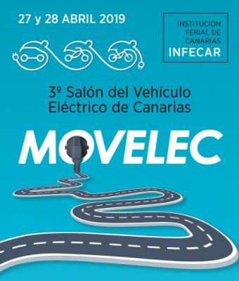MOVELEC, 3º Salón del Vehículo Eléctrico de Canarias