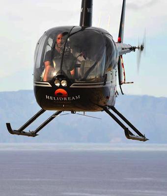 Paseo en helicóptero Gran Canaria