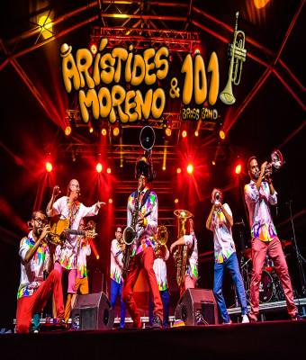 ARISTIDES MORENO y 101 BRASS BAND