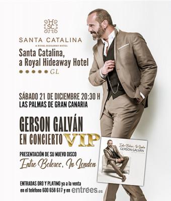 Gerson Galván en concierto VIP