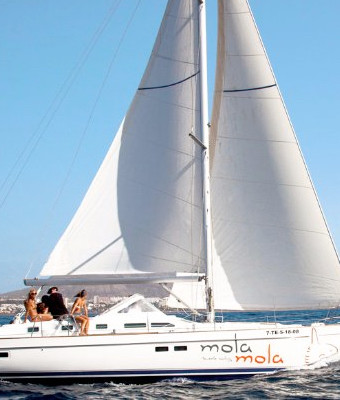Salidas en barco Mola Mola