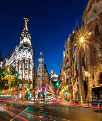 Madrid Night Tour with Optional Flamenco Show