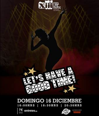 LET'S HAVE A GOOD TIME! MUESTRA DE DANZA KEYDANCE