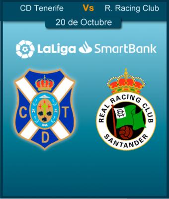 CD Tenerife vs R. Racing Club