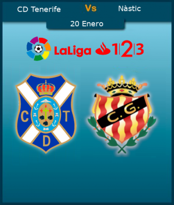 LaLiga 123 - CD Tenerife VS Gimnastic