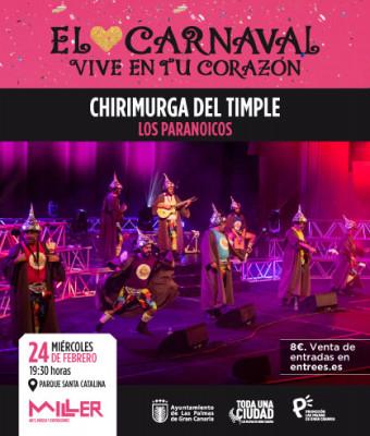 CHIRIMURGA DEL TIMPLE: LOS PARANOICOS