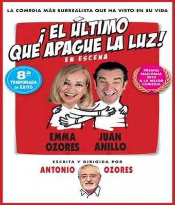 ¡EL ÚLTIMO QUE APAGUE LA LUZ!, con Emma Ozores