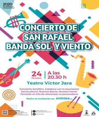 CONCIERTO DE SAN RAFAEL BANDA SOL Y VIENTO