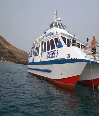 Excursiones en barco - Odyssee 3