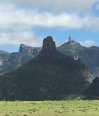 Bandama, cumbres y Roque Nublo