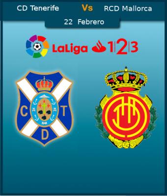LaLiga 123 - CD Tenerife VS RCD Mallorca