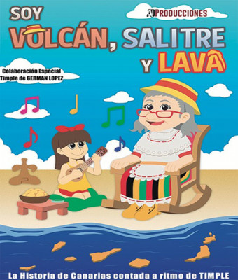SOY VOLCÁN, SALITRE Y LAVA