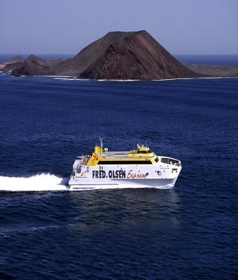 Ferry a Fuerteventura con Fred Olsen