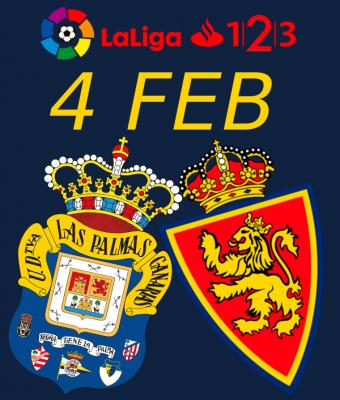 LaLiga 123 - UD Las Palmas VS Real Zaragoza
