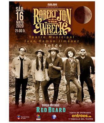 Robert Jon & The Wreck + Red Beard