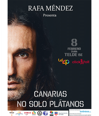 Rafa Méndez presenta CANARIAS NO SOLO PLÁTANOS