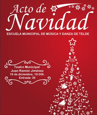 ACTO DE NAVIDAD, Escuela Municipal de Música y Danza de Telde