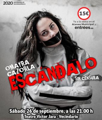 OMAYRA CAZORLA presenta Escándalo