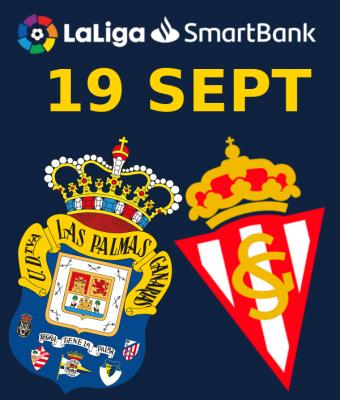 LaLiga SmartBank - UD Las Palmas VS Real Sporting