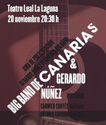 GERARDO NÚÑEZ FLAMENCO  CON BIG BAND DE CANARIAS
