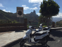Alquiler de scooter con reducción de franquicia