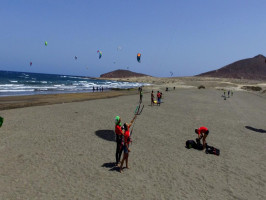 Godzilla Surf School in El Medano