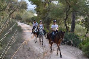Ses Roques Paseo a caballo 1