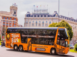 Madrid City Highlights Bus Tour with Authentic Tapas