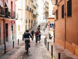 Bike tour in Madrid