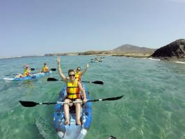 Sea Kayak in Lanzarote - Kayak routes