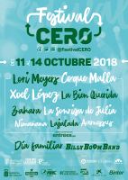 Cartel Artistas Festival Cero