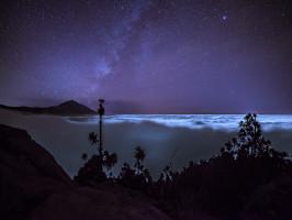 El Teide por la noche