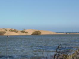 dunas y charca