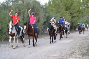 Ses Roques Paseo a caballo 3